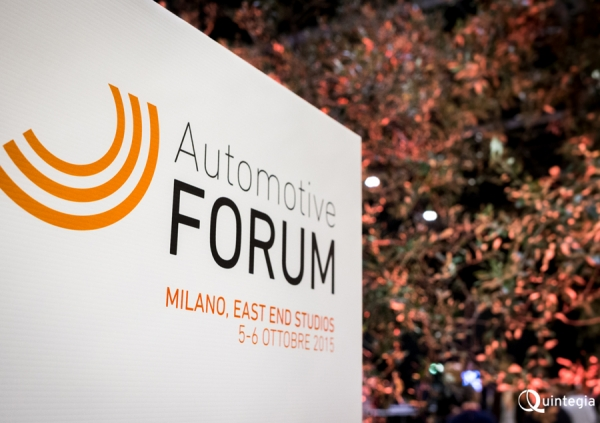 Global è Partner dell'Automotive Forum 2015